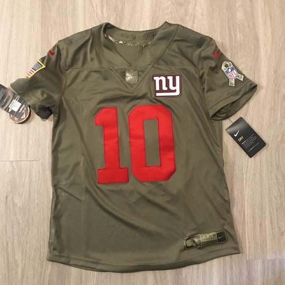 NFL NY Giants Eli Manning Salute To Service Jersey cbc16c1cb